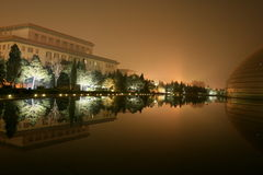 ноча фарфора Пекин Стоковое Изображение RF