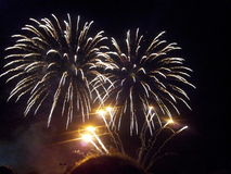 Ноча фейерверков 5-ое ноября стоковое изображение