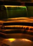 ноча фонтана Стоковые Изображения