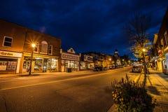 Ноча Хантсвилла стоковые изображения rf
