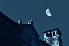 ноча церков стоковое фото rf
