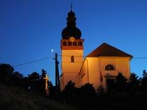 ноча церков Стоковое Фото