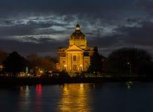 ноча церков Стоковое Изображение