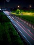 ноча шоссе Стоковая Фотография RF