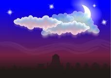 ноча Стоковые Фото