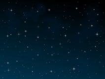 ноча 2 звёздная Стоковые Фотографии RF