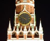 ноча 3 kremlin moscow Стоковое Фото
