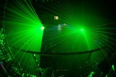 ноча 4 клубов Стоковое Изображение