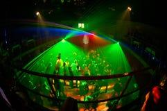 ноча 7 клубов стоковое фото rf