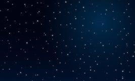 Ноча abctract звёздное небо Стоковые Фотографии RF