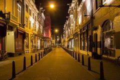 ноча amsterdam Стоковая Фотография RF