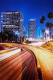 ноча angeles городская los Стоковое Изображение RF