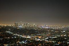 ноча angeles городская los Стоковое Фото