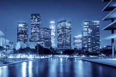 ноча angeles городская los Стоковая Фотография RF