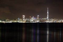 ноча auckland Стоковое фото RF