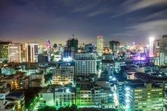 ноча bangkok Стоковое Фото