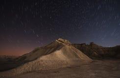 Ноча Bardenas Стоковые Изображения RF