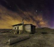 Ноча Bardenas Стоковая Фотография RF
