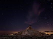 Ноча Bardenas Стоковые Изображения
