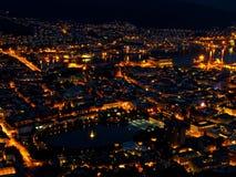 ноча bergen Стоковое Изображение RF