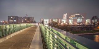 ноча berlin Стоковое Изображение RF
