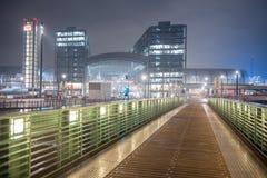 ноча berlin Стоковая Фотография RF