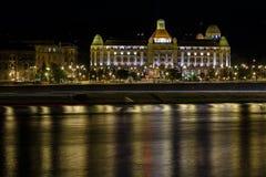 ноча budapest стоковое изображение