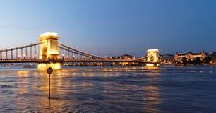 ноча budapest Стоковые Изображения RF