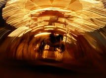 ноча carrousel Стоковые Изображения RF