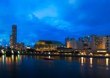 ноча esplanade Стоковое фото RF