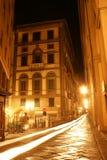 ноча florence Италии Стоковые Изображения RF