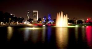 ноча florida jacksonville Стоковая Фотография RF