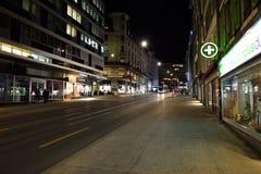 ноча geneva Стоковая Фотография RF