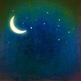 ноча grunge Стоковая Фотография RF