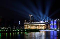 ноча guangzhou Стоковая Фотография RF