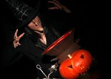 ноча halloween Стоковая Фотография
