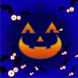 ноча halloween Стоковые Фото