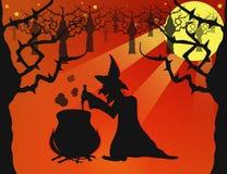 ноча halloween иллюстрация штока