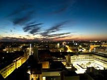 ноча helsini дела городская Стоковые Фотографии RF