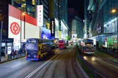 ноча Hong Kong Стоковое фото RF