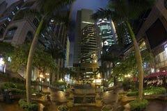 ноча Hong Kong Стоковые Изображения RF