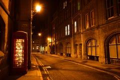 Ноча IV Оксфорда Стоковое Изображение RF