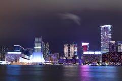 ноча kowloon стоковые фото
