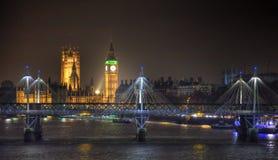 ноча london Стоковое фото RF