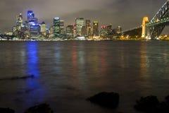 ноча milsons города sy Стоковые Фотографии RF