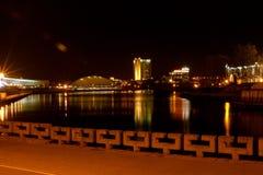 ноча minsk Стоковые Изображения