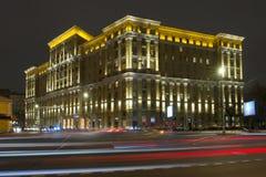 ноча moscow города Стоковое Изображение RF