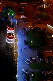 ноча moscow Стоковая Фотография