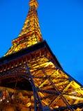 ноча ny paris vegas гостиницы Стоковое Изображение