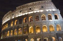 ноча rome Колизея Стоковое Изображение